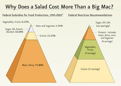 Why a salad costs more than a Big Mac
