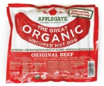 Applegate hot dogs