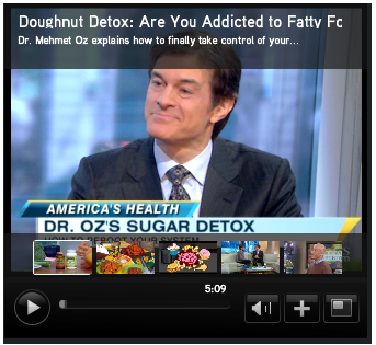 Dr. Oz on Good Morning America